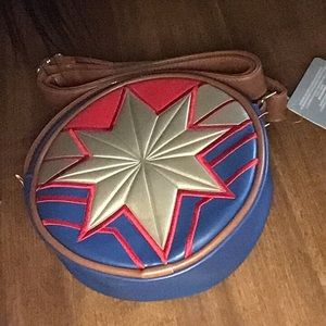 Disney captain marvel crossbody